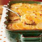 Southern Country Potatoes Au Gratin