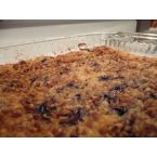 Vicki's BLUEBERRY DUMP CAKE (no pie filling)