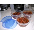 Crock-Pot BBQ Chili