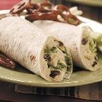 Image of Turkey Apple Salad Wraps, Bakespace