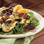 Grilled Portobello Mushrooms & Summer Squash