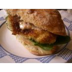 Pan-fried Fish Sandwiches with Spicy Tartar Sauce