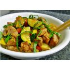 Pork with Zucchini in Oyster Sauce