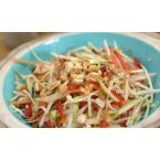 Asian Peanut Coleslaw