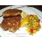 Asiago Crusted Pork Chops