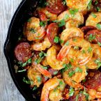 Sun-Dried Chorizo Garlic Shrimp