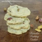 Salted Pistachio Pudding Cookies