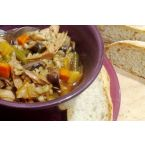 My Roasted Turkey Barley Soup