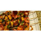 Skewered Apricot Shrimp