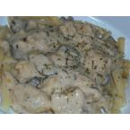 Chicken Stroganov