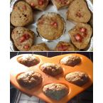 Banana Strawberry Muffins Of Love
