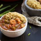 Shrimp Creole with Quinoa