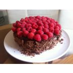 Chocolate Rasberry Sponge