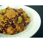 Quicker (and Lighter) Red Beans & Rice with Andouille
