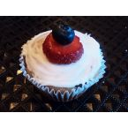 Gluten Free Find's Gluten Free Dairy Free Berry-full Cupcakes