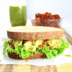 Sprouted Grain Chicken Pesto Sandwich