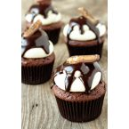 Heath Bar Cupcakes