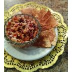 Apple Salsa and Cinnamon Chips