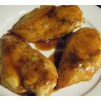Orange Glazed Chicken Breast With A Kick