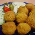 FALAFEL BALLS AND TACHINA DRESSING
