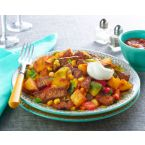Simple Beef & Potato Skillet Ole
