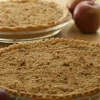 Deluxe Sour Cream Apple Pie