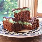 My Mom's Grasshopper Brownies
