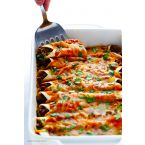 CROCK POT BEEF ENCHILADAS