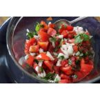 Indian Tomato, Onion and Coriander Salsa