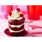 Betty Crocker Red Velvet Triple-Stacked Cupcakes