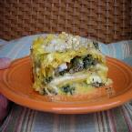 Image of Acorn Squash Bechamel Lasagna With Sage Sausage And Spinach, Bakespace