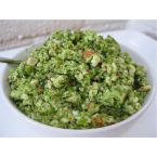 Raw Green Pea and Almond Dip