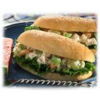 Chicken Salad Stuffed Bread Sticks