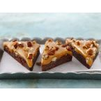Betty Crocker Salted Caramel Turtle Triangles