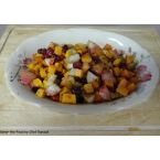 Roasted Butternut Squash Pears and Cranberries