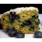 Blueberry Banana Coffee Cake