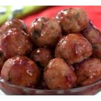 marinated meatballs