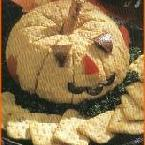 Jack O'lantern Cheese Ball