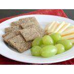 Wheat Free Meat Free's Gluten Free Vegan Garlic Rosemary Crackers