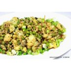 Cauliflower Green Peas Masala Stir-Fry