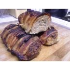 Bacon Wrapped Mini Turkey Meatloafs
