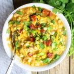 Southwestern Chicken Corn Chowder