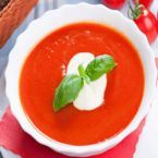 Chilled Tomato Soup With Garlic