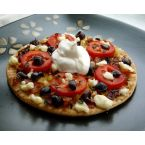 German & Greek Fusion Flatbreads