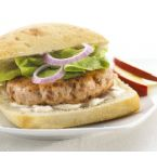 Fresh Salmon Burgers with Bran