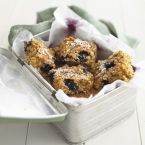 Blueberry Flapjacks