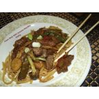 Asian Beef With Sesame Noodles