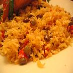 ARROZ-CON-GANDULES (RICE AND PIGEON PEAS)