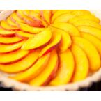 Angel Acres Super Scrumptious Peach Cake