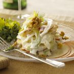 Goat Cheese Fennel Apple Salad